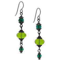Go Green Earrings by LaSecretTreasure on Etsy, $10.00
