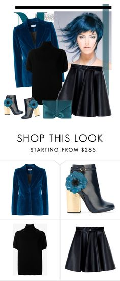 """""""Laurence Dacade flower ankle boots"""" by bodangela ❤ liked on Polyvore featuring Altuzarra, Laurence Dacade, Vince, MSGM and VBH"""