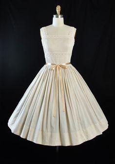 Vintage 50s Sundress / 1950s CAROL CRAIG Dress by GeronimoVintage