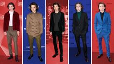 His name is Timothée Chalamet and he's on a red carpet hot streak.