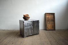 Small metal cabinet (artKRAFT Original Industrial Furniture) Industrial Furniture, Cabinets, The Originals, Storage, Metal, Table, Home Decor, Armoires, Purse Storage