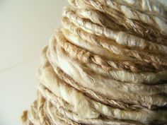 Textural  Lichen Yarn Corespun Coil Hand Dyed by greybirdstudio, £32.00