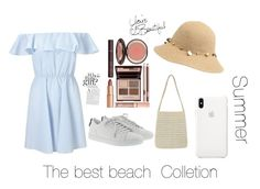 """Untitled #17"" by hessa-2009 on Polyvore featuring Miss Selfridge, Yves Saint Laurent, WithChic and Charlotte Tilbury"