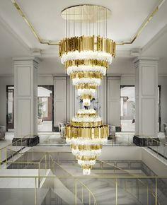 Empire XL Chandelier    #inspirations #designinspiration #moderninteriordesign decorate, interior design, luxury design . See more inspirations at www.luxxu.net
