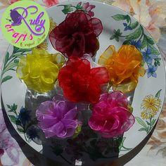FLOWER FAVOR JAR (A Ruby Crafts Original) Originally designed and sold by Ruby Crafts and Gifts Shop #rubycrafts #rubycraftsandgiftsshop #giftshop #flowerfavorjar #personalizedjar #masonjar #giftjar #favorjar #giveawayjar #savingsjar #flowerjar #floraljar #giftideas #giveawayideas #weddingsouvenir #token #souvenir Favour Jars, Favors, Savings Jar, Flowers In Jars, Mason Jars, Tableware, Floral, Shop, Gifts