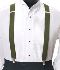 fe575d897f Civil Outfitters Smart Green Suspender with Key Chain Dairy