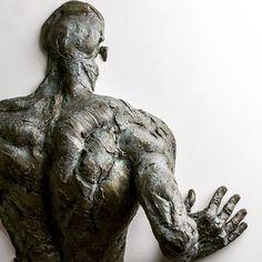 The Riddle, bronze, 2016 #riddle #sculpture #struggle #extramoenia #matteopugliese #art #bronze #contemporaryart