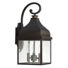 View the Capital Lighting 9642 The Westridge Collection 3 Light Outdoor Wall Sconce at LightingDirect.com.