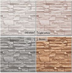 dhgate daily deals -Modern 3D three-dimensional design wallpaper roll stone brick background wall vinyl wall paper living room wallcovering W025