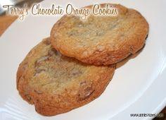 Terry's Chocolate Orange Cookies | Annie's Noms