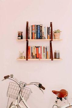 cute floating shelves!