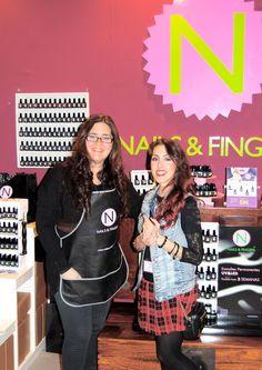 Con la encantadora Marta Blogger de Rock and Wild