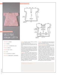 Ropa de Bebe / 4 Patrones de Tejido con Moldes y Tutoriales en Español   Crochet y Dos agujas