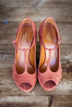 Rose Gold Shoes | Zara Zoo Photography | Slate Blue and Dusty Rose Wedding Ideas