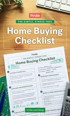 Home Buyer Checklist Of Home Features And Amenities Follow Link