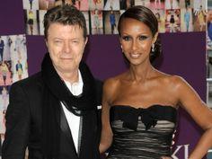 David Bowie og supermodellen Iman