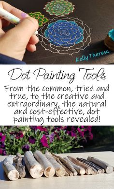 Find out more about common tools that dot painters use, along with uncommon and low cost tools!Hobbies That Will Make You Money Code: the ordinary and common, the tried and true, to the creative and extraordinary, natural and cost-effective