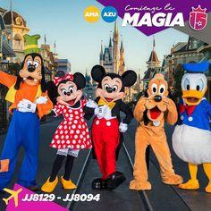 Vaaamos que nos vamos!  Los grupos #amarilloF17 y #azulF17 empiezan hoy a vivir su sueño! #Disney allá vamos!   Seguí los vuelos!