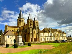 Basilique de Paray Le Monial.