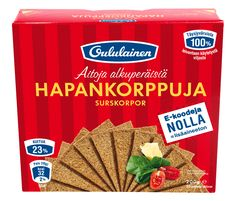"""Rye bread """"FinnCrisp - hapankorppuja, nami :)"""