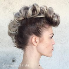 Fauxhawk+Updo+For+Fine+Hair