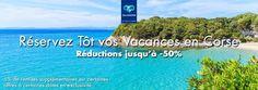 Vacances en Corse pas cher Carrefour Voyages jusqu'à -50%