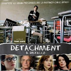 Detachment is a 2011 American drama film about the high school education system directed by Tony Kaye , starring Adrien Brody with. Detachment Movie, Adrien Brody, Bryan Cranston, Lights Camera Action, Epic Movie, Lucy Liu, Education System, Drama Film, Film Music Books