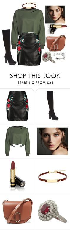 """""""· Street Style Contest ·"""" by its-aiden-grace ❤ liked on Polyvore featuring Boohoo, Donald J Pliner, WithChic, Burberry, Gucci, Kenneth Cole and 3.1 Phillip Lim"""