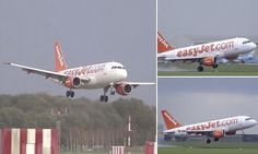 Video shows frightening moment easyJet plane aborts landing Easy Jet, Cargo Airlines, Strong Wind, Travel News, Landing, Planes, Travelling, Aviation, Aircraft