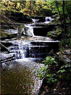 Buttermilk Falls, Ithaca, NY