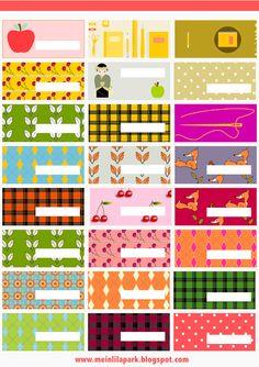 Free printable patterned tag and label collection 3 - ausdruckbare Etiketten - freebie | MeinLilaPark – digital freebies