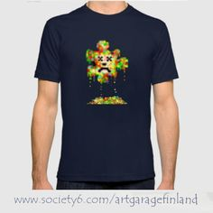 'Error Meltdown' - t-shirt design from Society6.  - www.society6.com/artgaragefinland . . . . 1. #error 2. #society6  3. #systemerror 4. #breakdown 5. #clothes 6. #crash 7. #art  8. #computergeek 9. #tshirt 10. #teeshirt 11. #teeoftheday 12. #jigsaw 13. #instaart 14. #instacool 15. #failure 16. #computersaysno 17. #technology 18. #itcrowd 19. #pixels 20. #society6tshirts 21. #pixeldesign  22. #pixelate 23. #konstnär 24. #artist  25. #hogansociety6 26. #shar