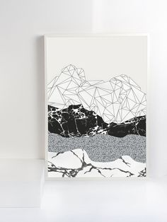 - Brand new art print - Designed and made in The Netherlands - A3 size - Printed on 320gsm textured paper This work is inspired by the beauty of deep earth layers with all kind of gifts of Mother Earth. Such as geodes, crystals, minerals, marble and granite. Shipping Print is shipped in a custom postal tube to ensure safe delivery. Please take care when removing your print from it's tube.