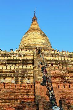 Shwesandaw Paya - Bagan, Burma