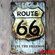The Route 66 metal signs wall decor House Office Restaurant Bar Wall painting art matal craft 20x30cm