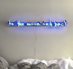 To The Moon And Back Plexiglass-Mounted Neon Sign by MarcusConradPoston