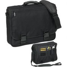 #PROMOTIONAL GIFT - Laptop Bag - 600 x 600D Polyester laptop bag, padded laptop pouch, shoulder strap, zip pocket on the front flap and organiser panel for cards, mobile phone and pens. Also a large main compartment