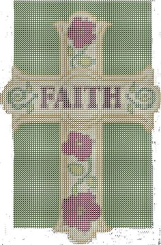 FAITH CROSS... There is no color chart for this