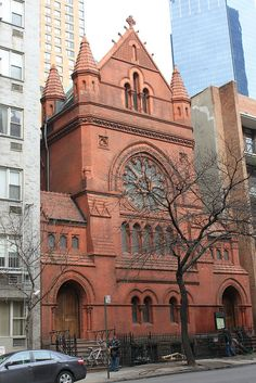 Catholic Apostolic Church in midtown Manhattan