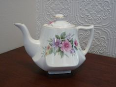 James Kent Old Foley Melrose Pattern Tea Pot by TheShabbyChickster, $18.00