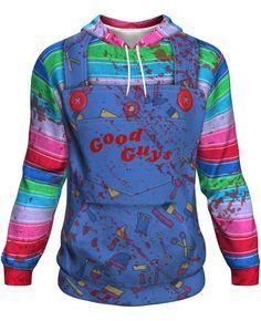 MMM Merchandising Childs Play 3 Mens Chucky Sweater