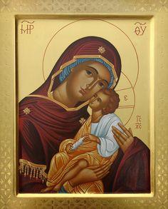 Theotokos Church Interior, Son Of God, Orthodox Icons, Virgin Mary, Ikon, Jesus Christ, Mona Lisa, Greek, Marvel