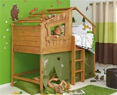 I really, really want the treehouse bed for G's room! Gah, got to get him out of…