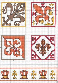 Cross Stitch Needles, Cross Stitch Embroidery, Embroidery Patterns, Hand Embroidery, Cross Stitch Patterns, Knitting Patterns, Mardi Gras, Pixel Pattern, Perler Patterns
