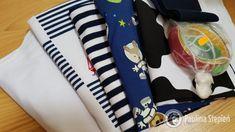 Ostatnie zakupy z dresówki: sporo dzianin t-shirtowym z nadrukiem i te pasiaste Diy Clothes, Baby Car Seats, Children, Handmade Clothes, Boys, Kids, Clothes Crafts, Diy Clothing, Sons