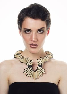 MAGNET-TREE Buildable jewel family by Reka Gottlieb, via Behance Seed Bead Jewelry, Bead Jewellery, Opal Jewelry, Art Deco Jewelry, Jewelry Necklaces, Jewelry Design, Paper Jewelry, Body Adornment, Contemporary Jewellery