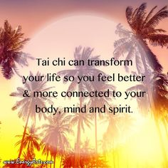 """Tai chi is the future of fitness and exercise. Tai Chi Chuan translated into the English language literally means """"the supreme ultimate."""" Tai chi is what I call an Uber-exercise because you can do it for health, healing, martial arts and meditation."""