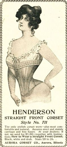Corsets from 1901 - Woman's Home Companion