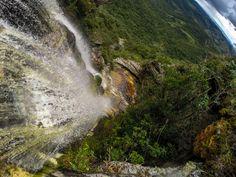 Cachoeira Janela do Céu - Ibitipoca - Vamos Trilhar