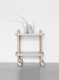 Via cocolapinedesign.com | Normann Copenhagen Tray Cart